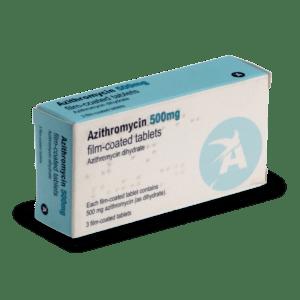 Boite d'Azithromycine