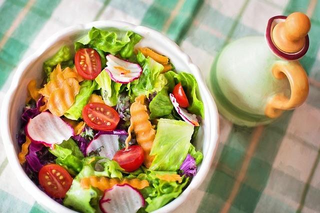 Salade apétissante