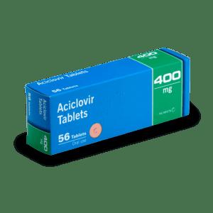 Aciclovir en boite