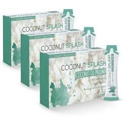 Bain de bouche d'huile de noix de coco Coconut Splash par 3